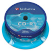CD-R Verbatim DL 700MB, 52x, cake 25 ks