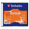 DVD-R Verbatim 4,7 GB, 16x, slim box